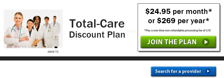 Total Care Discount Plan
